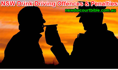 Drink Driving Offences NSW & Drink Driving Penalties NSW